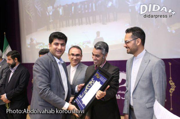 عنوان دوم به روابط عمومی آبفا روستایی خوزستان تعلق گرفت