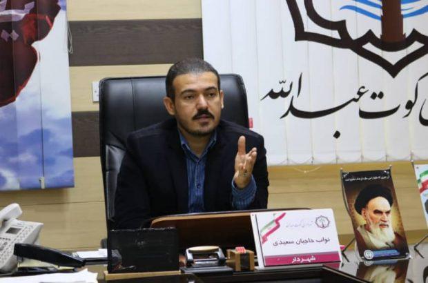 بسیج نیروها و امکانات شهرداری جهت کمک به حل بحران کوت عبدالله