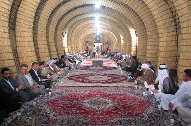 معتمدان و بزرگان عرب درشعیبیه شوشتر عید دیدنی نمی روند